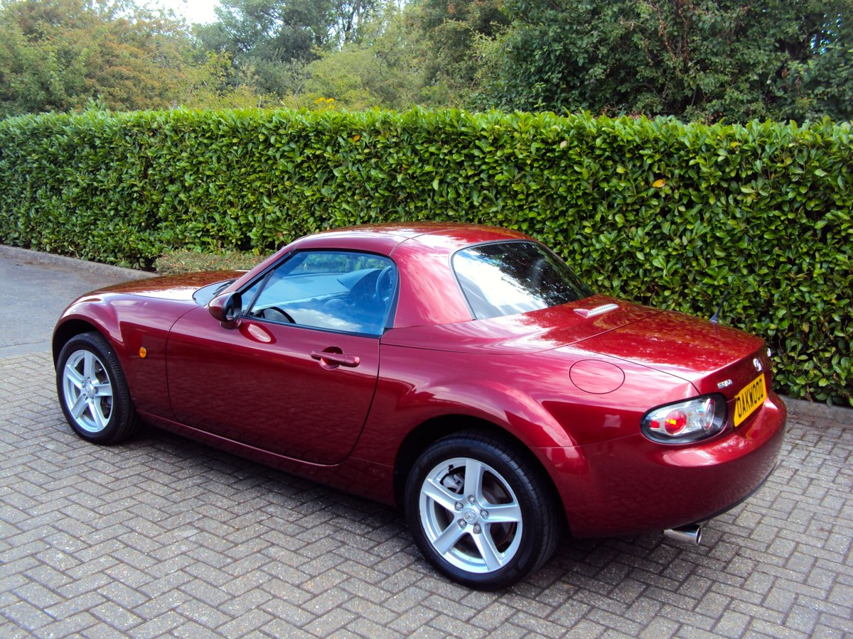 2007 An EXCEPTIONAL Low Mileage MX-5 FOLDING HARDTOP - IMMACULATE For Sale (picture 2 of 6)