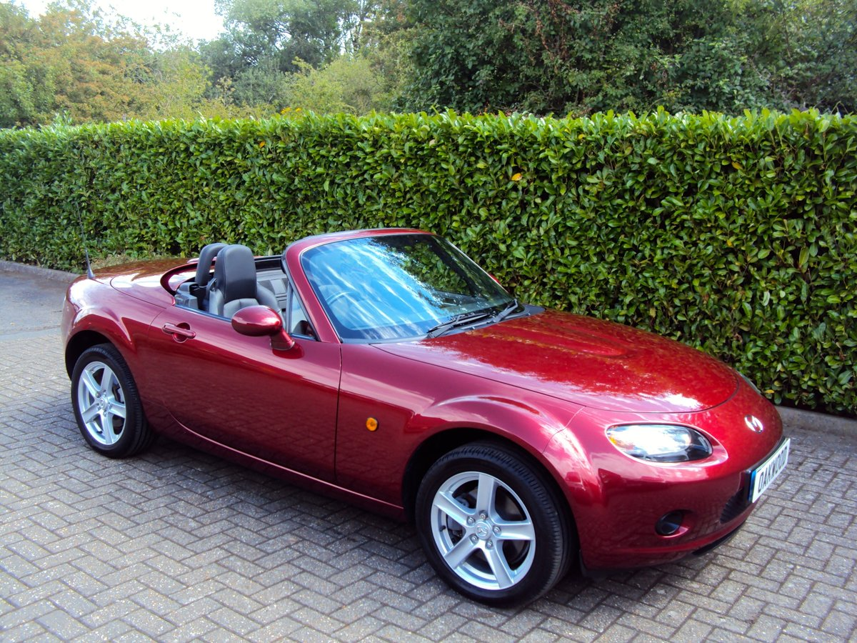 2007 An EXCEPTIONAL Low Mileage MX-5 FOLDING HARDTOP - IMMACULATE For Sale (picture 3 of 6)