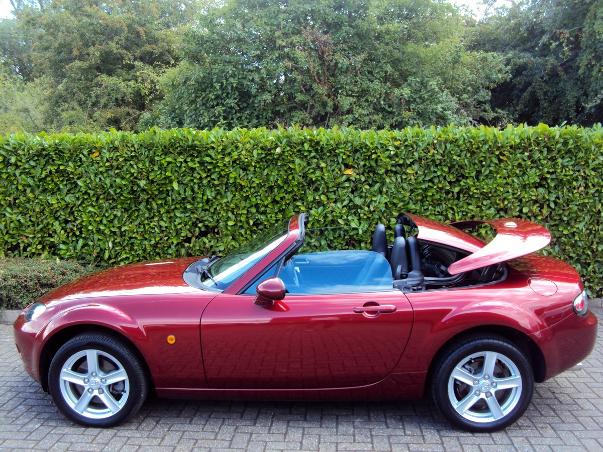 2007 An EXCEPTIONAL Low Mileage MX-5 FOLDING HARDTOP - IMMACULATE For Sale (picture 4 of 6)