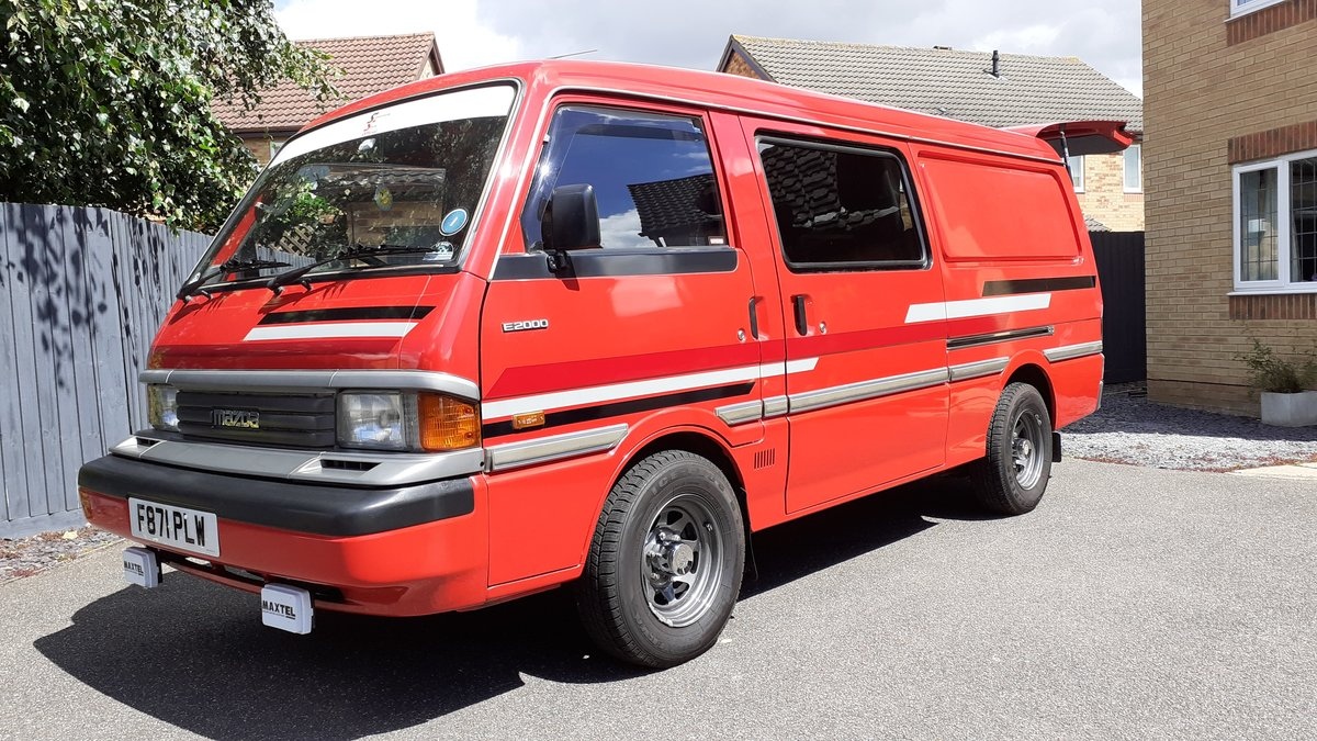 1989 Mazda E2000, Retro Campervan - Excellent condition SOLD (picture 1 of 6)