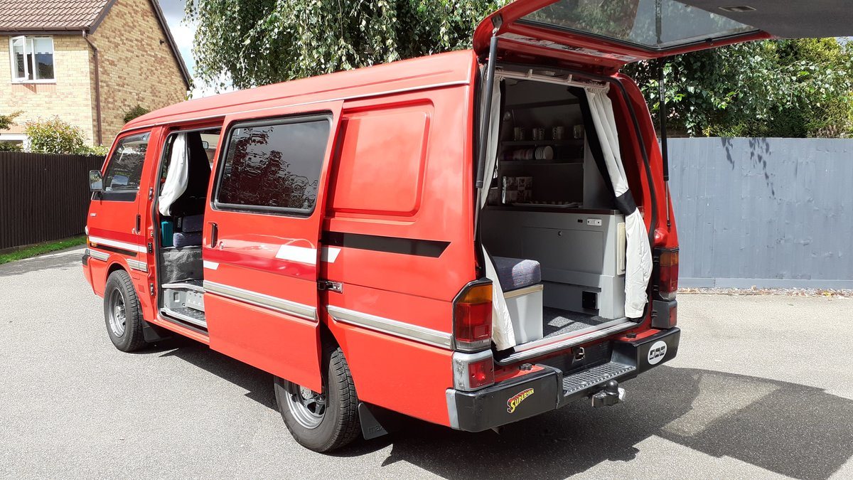 1989 Mazda E2000, Retro Campervan - Excellent condition SOLD (picture 6 of 6)