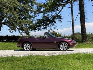 1996 P MAZDA MX5 1.8i MERLOT ONLY 77000 MILES For Sale