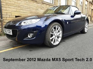 Picture of 2012 MX5 Sport Tech 2.0 Hardtop Cabriolet For Sale