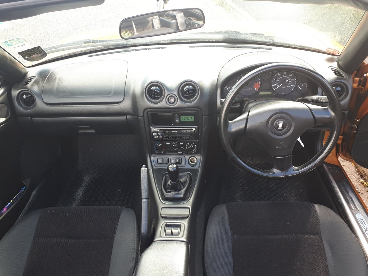 2001 Mazda MX-5 mk2 1.8S - low mileage For Sale (picture 4 of 6)