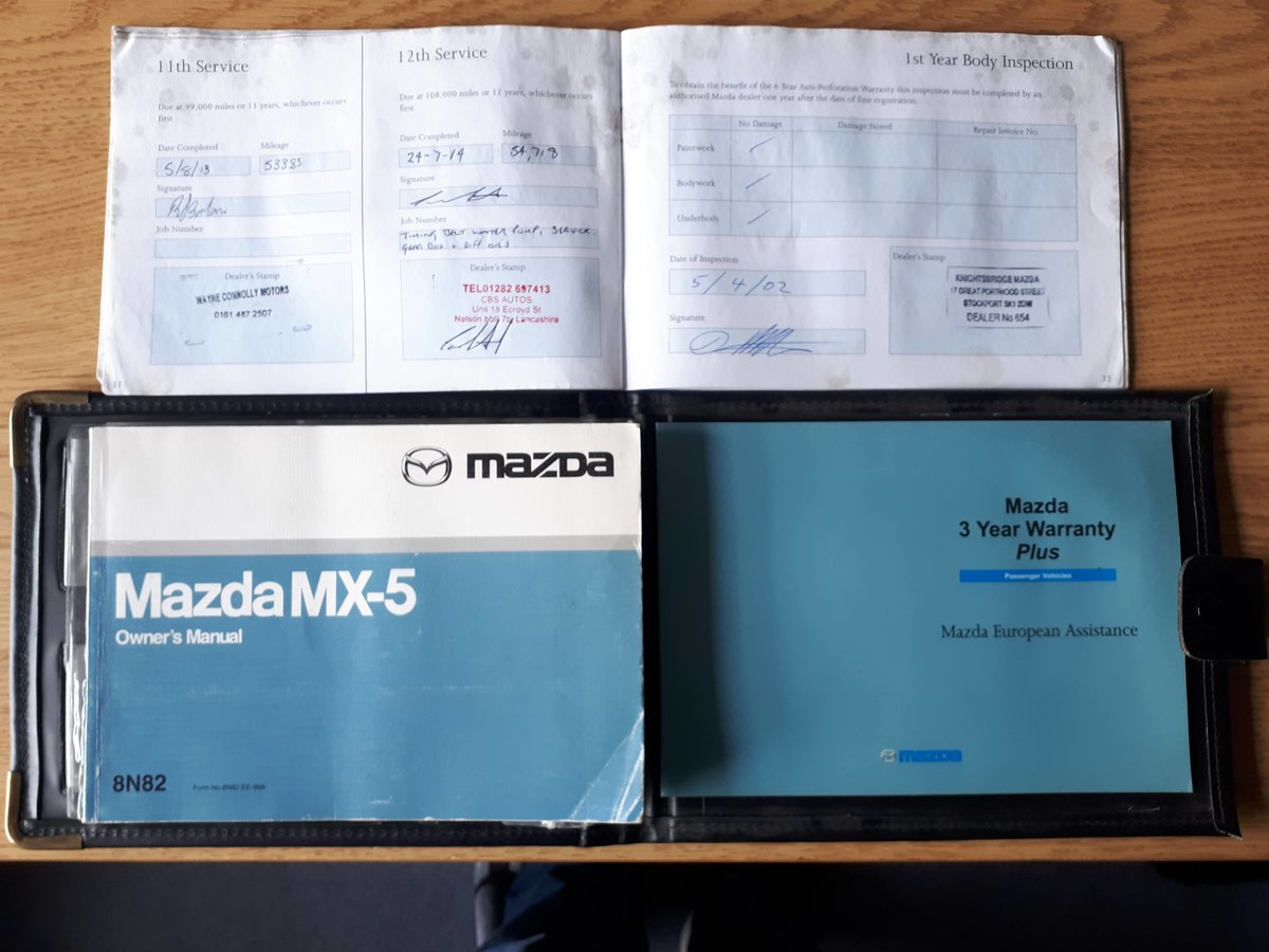 2001 Mazda MX-5 mk2 1.8S - low mileage For Sale (picture 6 of 6)