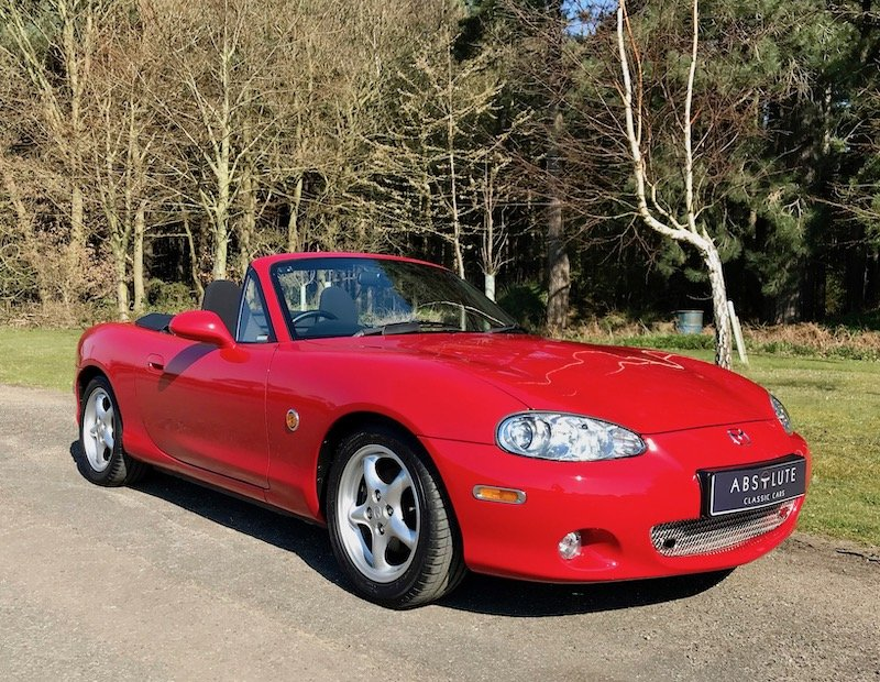 2003 Mazda MX-5 Roadster, FSH 2170 miles! SOLD SOLD (picture 1 of 6)
