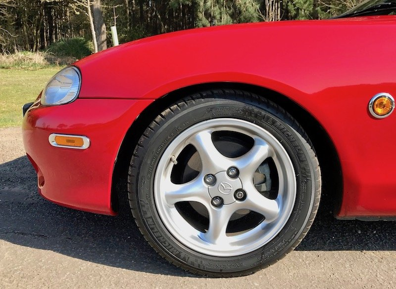2003 Mazda MX-5 Roadster, FSH 2170 miles! SOLD SOLD (picture 4 of 6)