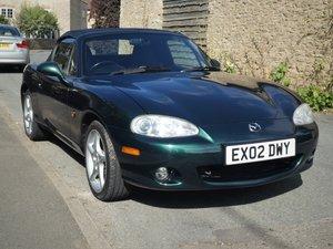 2002 MX-5 1.8 VVT w/hard-top