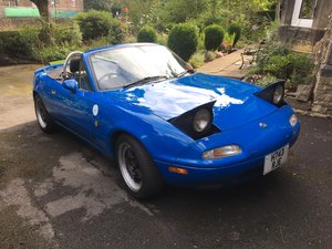 Maxda Eunos import, one of the very first MX5s
