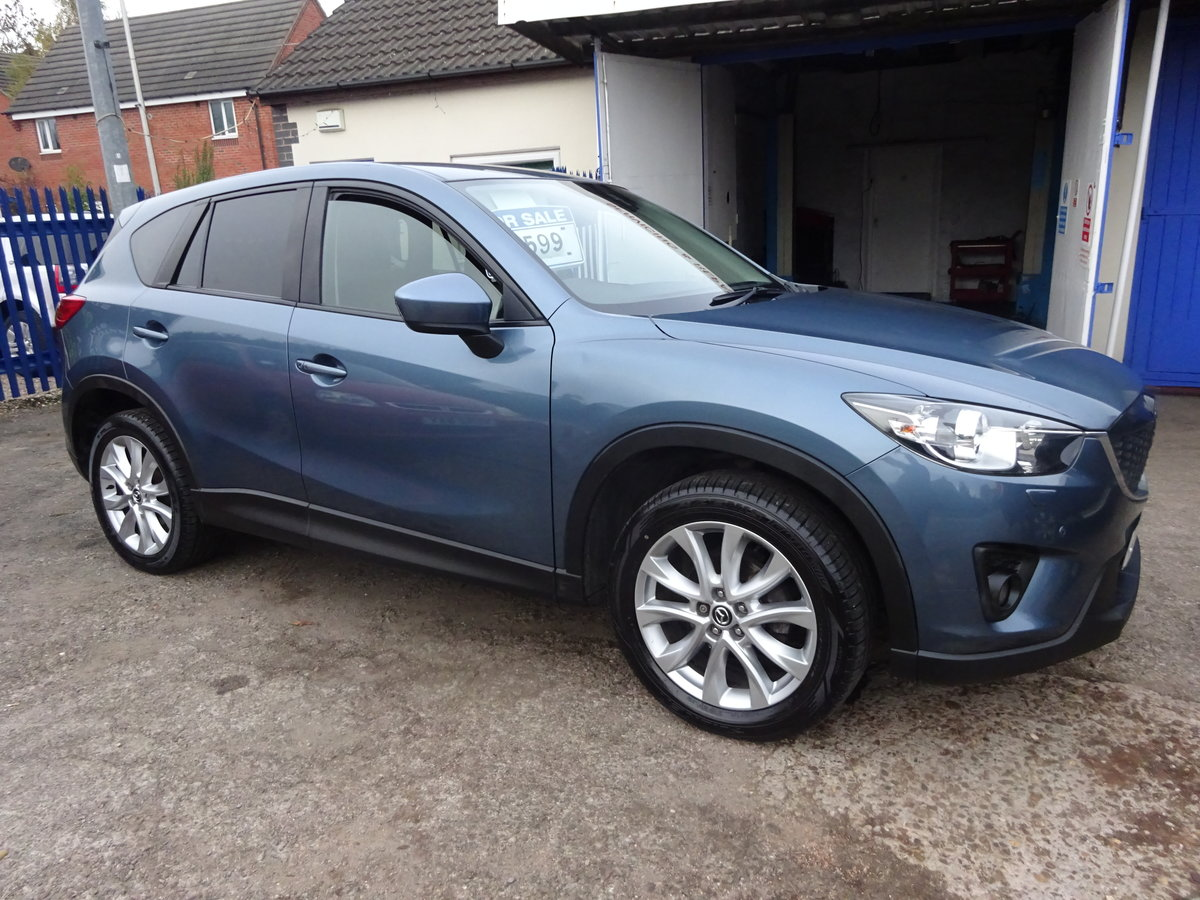 2014 64 VALUE MAZDA CX 5 2WD DIESEL ESTATE SUV LOVELY  DRIVER  For Sale (picture 2 of 6)