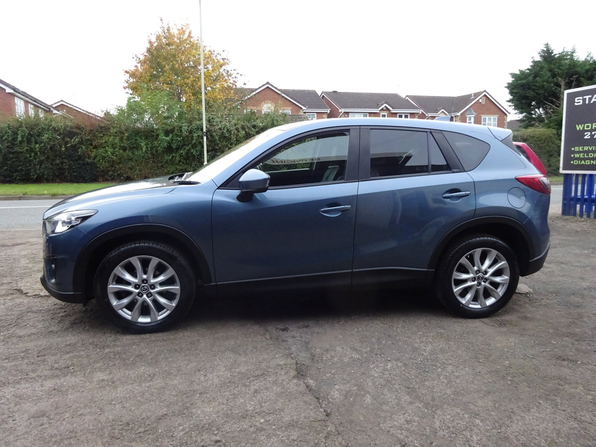 2014 64 VALUE MAZDA CX 5 2WD DIESEL ESTATE SUV LOVELY  DRIVER  For Sale (picture 4 of 6)