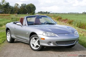 Picture of 2002 Mazda MX-5 NB 1.8i S-VT Evolv with only 7.768 Kilometers