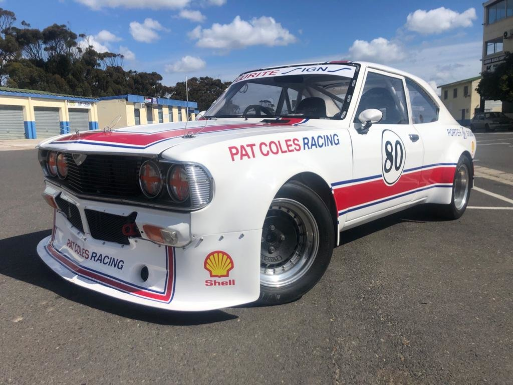 1977 Mazda Capella Series 5 Coupe Rotary Race Car For Sale (picture 2 of 6)