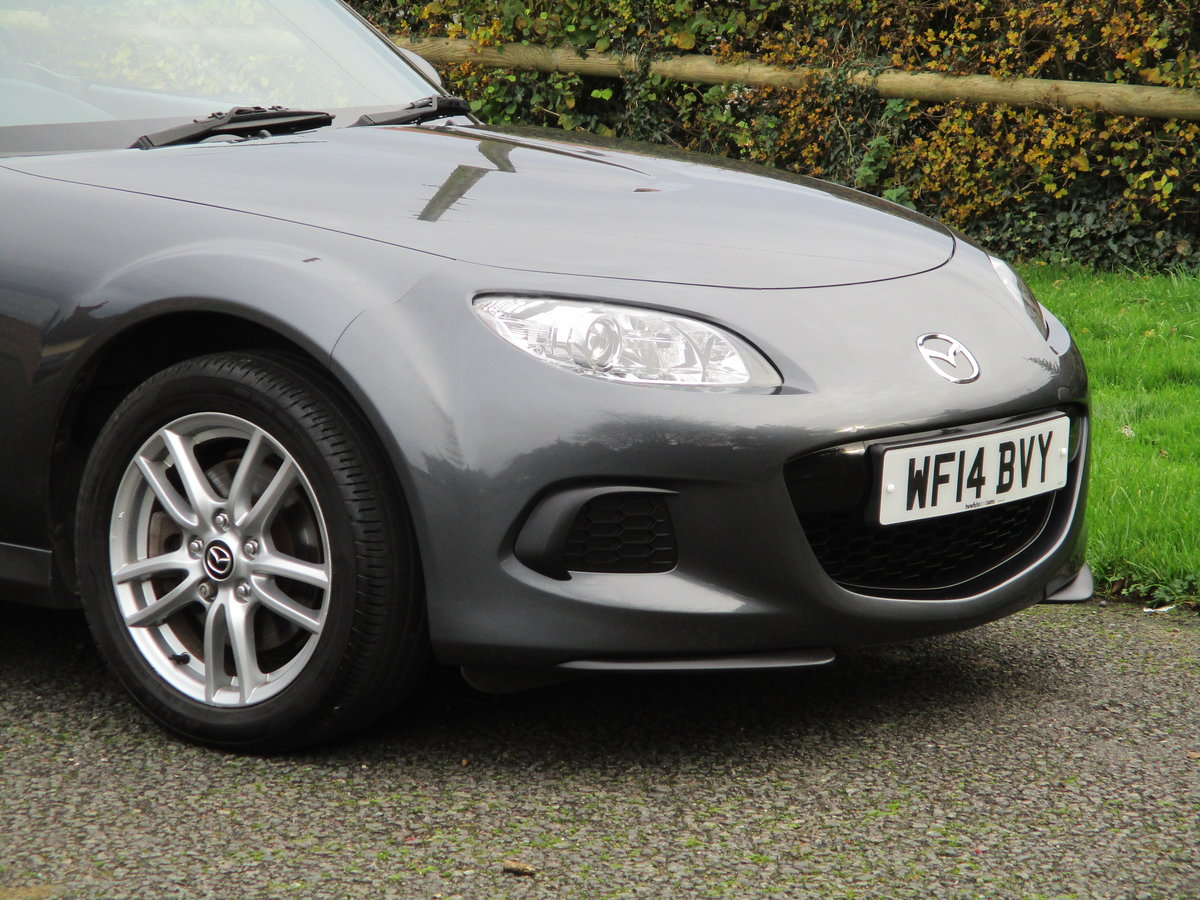 2014 Exceptional MX5 1.8 SE MK3.75. MX5 SPECIALISTS For Sale (picture 5 of 6)
