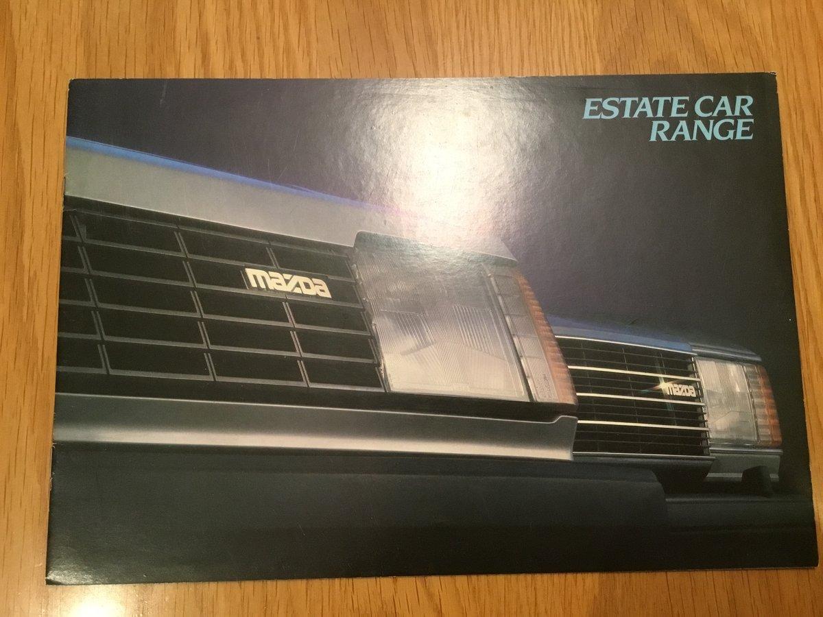 1983 Mazda 323 range brochure For Sale (picture 1 of 1)