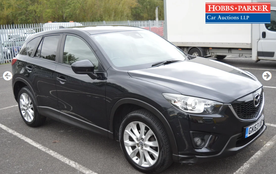 2013 Mazda CX5 Sport Nav D 4x4 - 60,775 Miles -Auction 25th For Sale (picture 1 of 6)