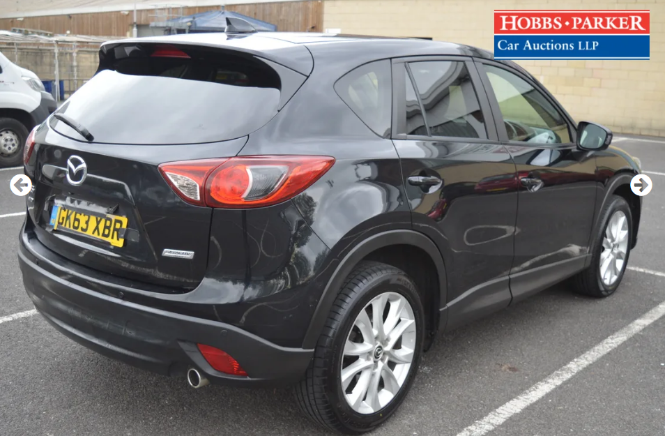 2013 Mazda CX5 Sport Nav D 4x4 - 60,775 Miles -Auction 25th For Sale (picture 2 of 6)