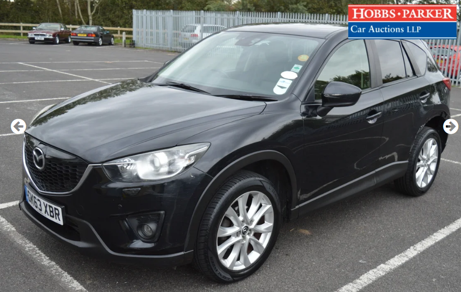 2013 Mazda CX5 Sport Nav D 4x4 - 60,775 Miles -Auction 25th For Sale (picture 4 of 6)