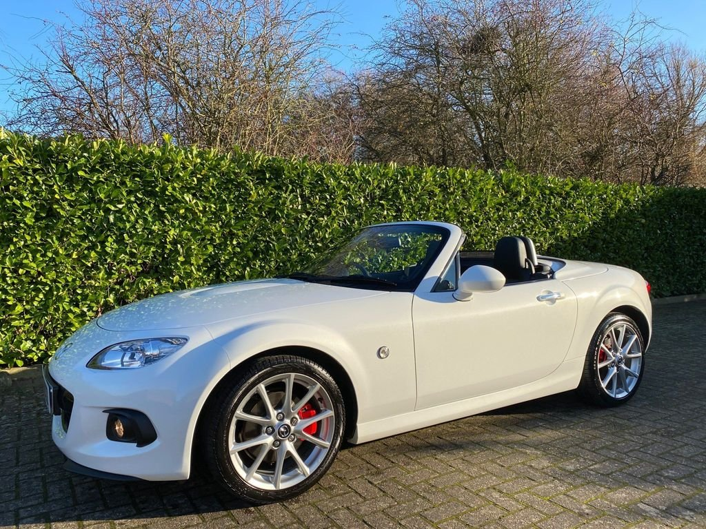 2014 A STUNNING MX-5 2.0i SportTech Nav with extras!! Hardtop For Sale (picture 4 of 6)