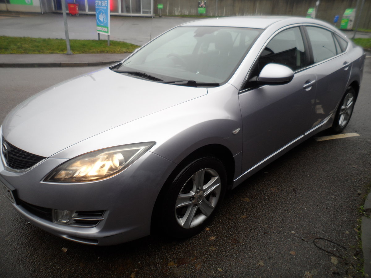 2009 MAZDA 6 HACHBACK 5 DOOR T2 2.2cc DIESEL 6 SPEED MAN NEW MOT For Sale (picture 2 of 11)