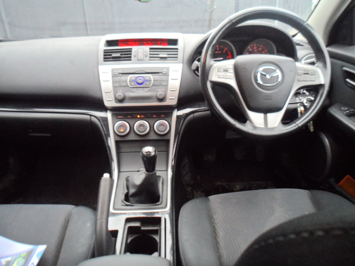 2009 MAZDA 6 HACHBACK 5 DOOR T2 2.2cc DIESEL 6 SPEED MAN NEW MOT For Sale (picture 10 of 11)