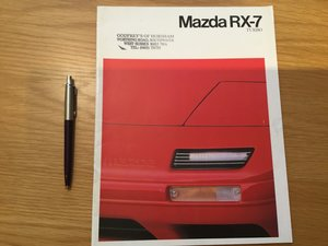 Picture of 1990 Mazda RX 7 turbo brochure SOLD