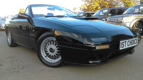 1992 RX7  TURBO  CONVERTIBLE 1 OWNER  VERY LOW MILES  For Sale (picture 1 of 6)