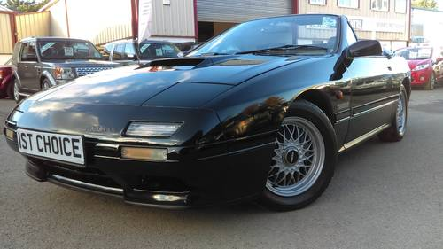 1992 RX7  TURBO  CONVERTIBLE 1 OWNER  VERY LOW MILES  For Sale (picture 2 of 6)