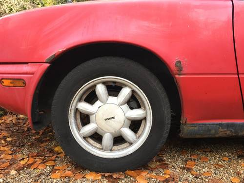 Very early 1990 Mazda MX5 (NA/UK Spec') SOLD (picture 6 of 6)