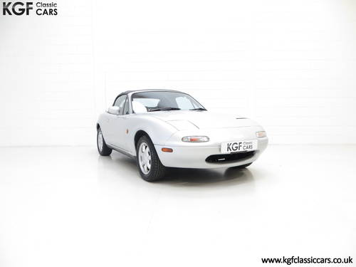 A Very Early Built UK Mazda MX-5 in Unmolested Condition SOLD (picture 1 of 6)