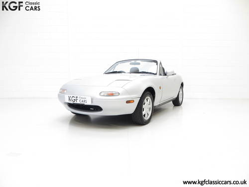A Very Early Built UK Mazda MX-5 in Unmolested Condition SOLD (picture 2 of 6)