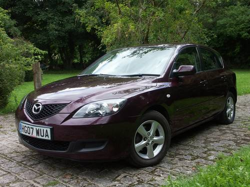 2007 Mazda 3 TS 1.6 Automatic SOLD (picture 1 of 6)