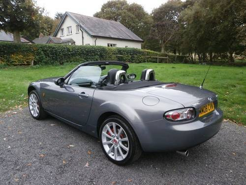 2008 '08' MAZDA MX5 1.8 ROADSTER GREY BIG SPEC STUNNING!!! SOLD (picture 2 of 6)