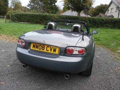 2008 '08' MAZDA MX5 1.8 ROADSTER GREY BIG SPEC STUNNING!!! SOLD (picture 3 of 6)