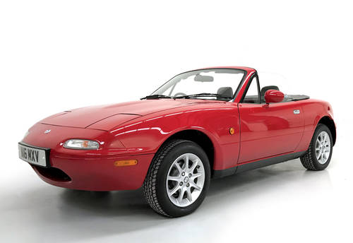 1996 Mazda MX-5 1.6 9650 miles! SOLD (picture 1 of 6)