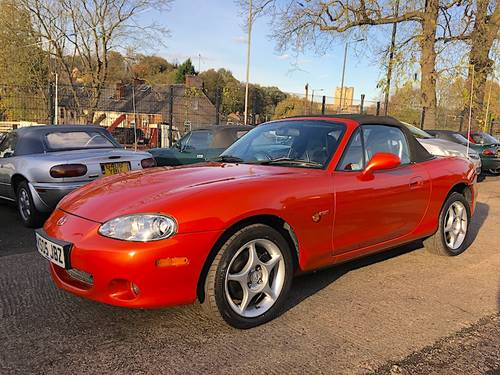 2005 Mazda MX-5 Mk2.5 1.8 Vvt Icon special edition SOLD (picture 1 of 6)