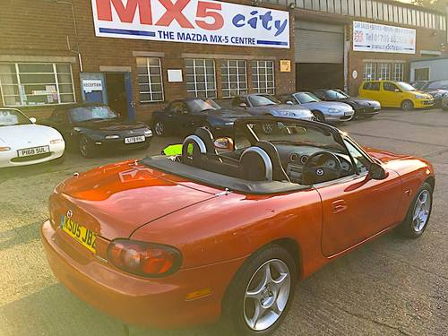 2005 Mazda MX-5 Mk2.5 1.8 Vvt Icon special edition SOLD (picture 2 of 6)