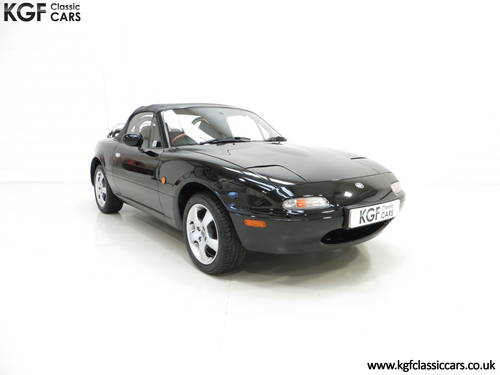 1997 A Gleaming UK Mk1 Mazda MX5 with Just 35,831 Miles from New SOLD (picture 1 of 6)