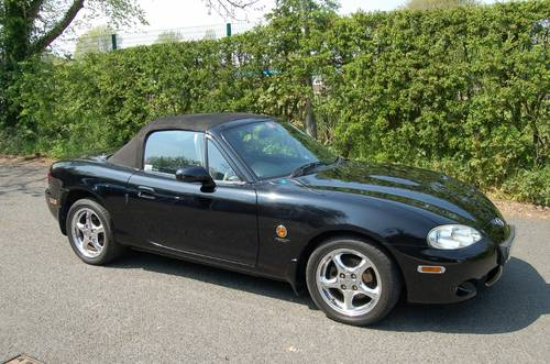 MAZDA MX-5 TRILOGY LTD EDITION (2002) - ONLY 39K MILES FSH For Sale (picture 6 of 6)