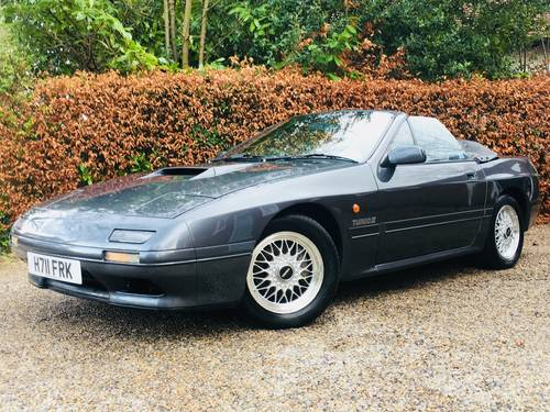 1990 low mileage rx7 rx-7 turbo II convertible - stunning SOLD (picture 1 of 6)