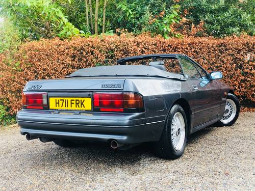 1990 low mileage rx7 rx-7 turbo II convertible - stunning SOLD (picture 2 of 6)