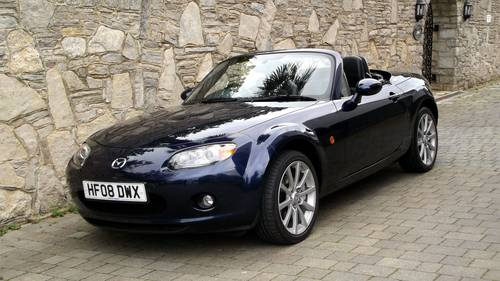 2008 08 MAZDA MX5 ROADSTER 2.0 SPORT EDITION w BOSE SOLD (picture 1 of 6)
