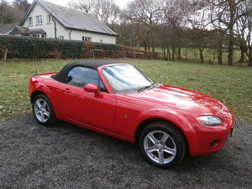 2007 MAZDA MX5 1.8 MK3 TRUE RED JUST 7,572 MILES *STUNNING* SOLD (picture 1 of 6)