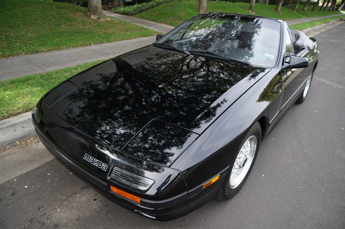 1988 Mazda RX-7 Convertible with 55K orig miles  SOLD (picture 1 of 6)