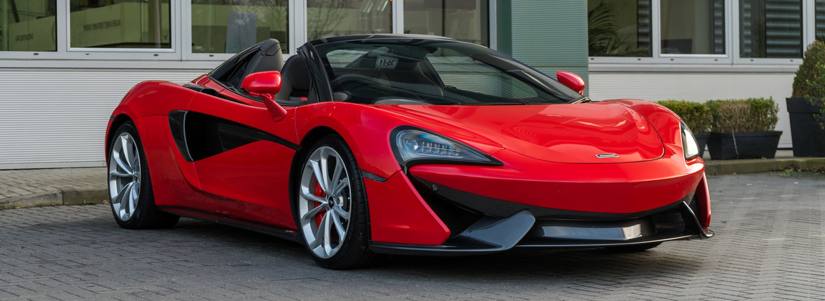 2019 McLaren 570S Spider 3.8T V8 Spider  For Sale (picture 2 of 6)
