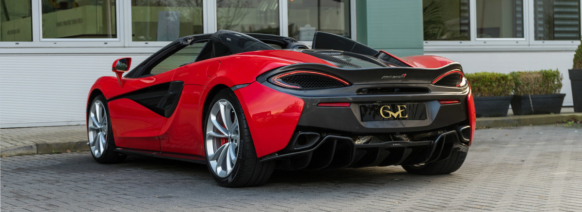 2019 McLaren 570S Spider 3.8T V8 Spider  For Sale (picture 3 of 6)
