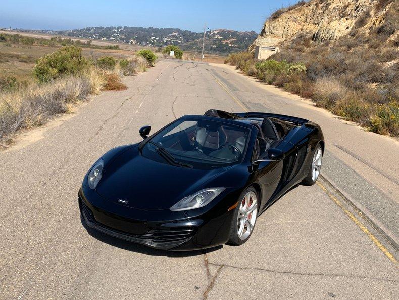 2013 McLaren 12C Spider MP4-12C Carbon Black 9k miles $obo For Sale (picture 1 of 6)