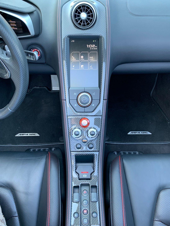 2013 McLaren 12C Spider MP4-12C Carbon Black 9k miles $obo For Sale (picture 6 of 6)