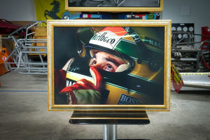 Picture of 1991 Ayrton Senna Panel - Honda - For Sale