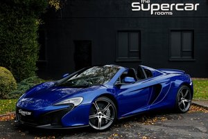 2014 McLaren 650S Spider - 2K Miles - Aurora Blue  For Sale